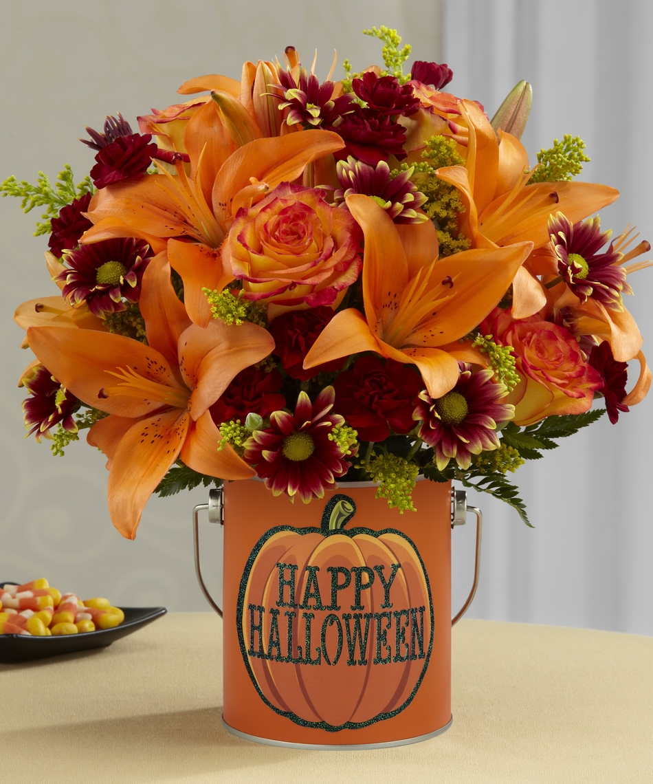 Fun And Spooky Flowers And Gift Ideas For Halloween Parties And Events Veldkamps Flowers Blog