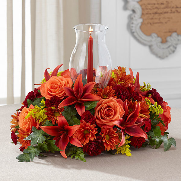 Order your thanksgiving floral décor centerpieces and