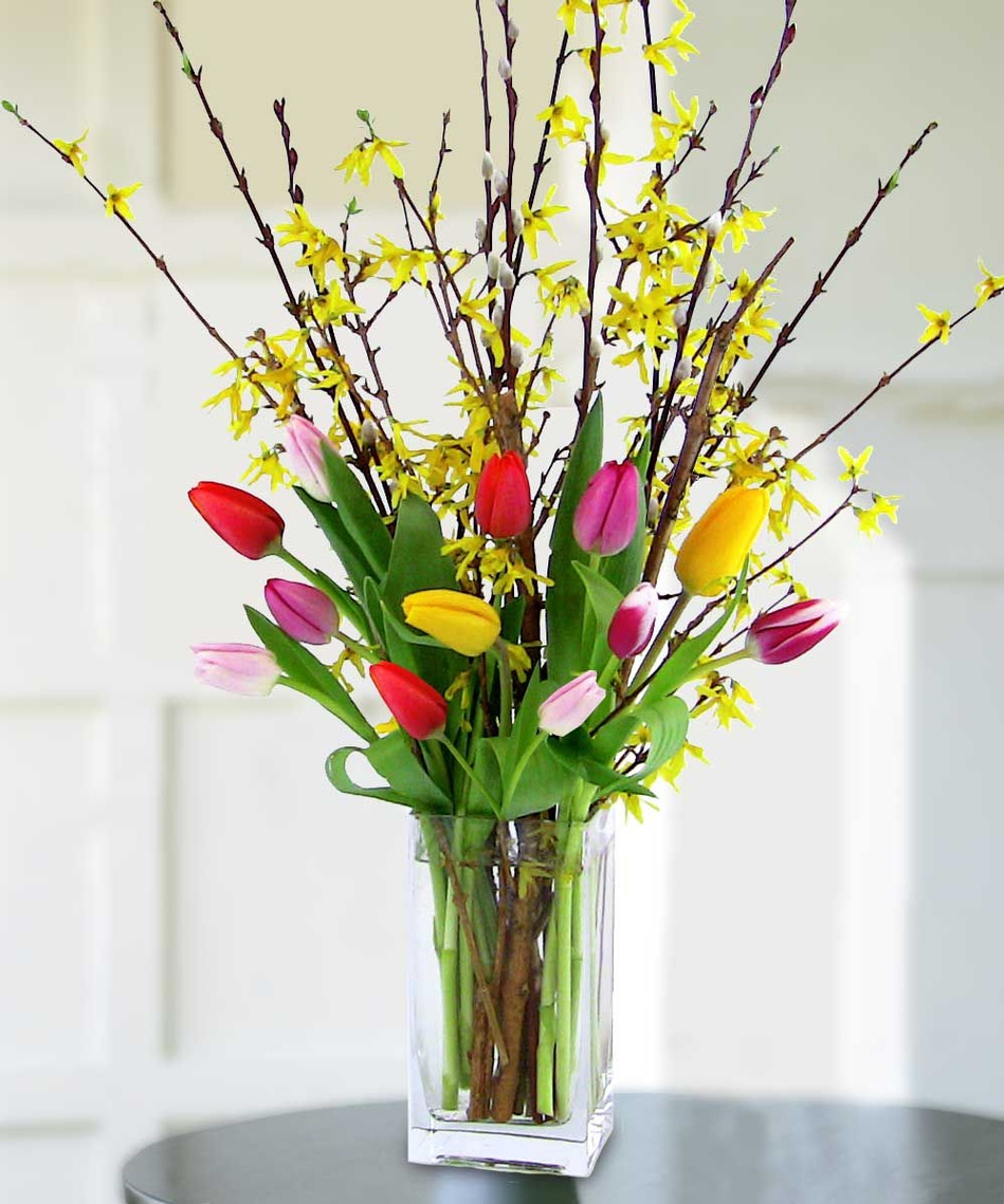 Spring flowers are here let s celebrate veldkamps for A arrangement florist flowers