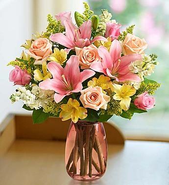 Gift Mom With Unique Flower Arrangements Flowering Plants Goodies