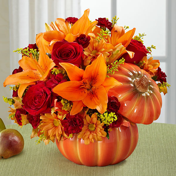 Autumn Flower Arrangements And Centerpieces Are Here