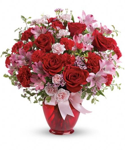the gift of flowers is a valentine's day favorite – veldkamps, Ideas